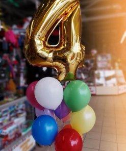 Букет шаров 4 года