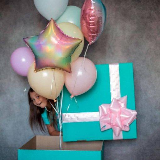 Коробка сюрприз - короба з шарами - заказати у нікополі
