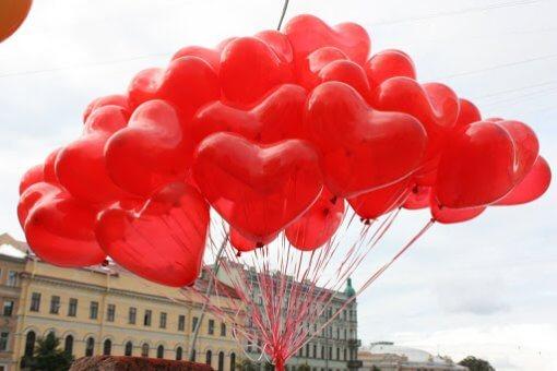 50 сердец - Никополь шарики