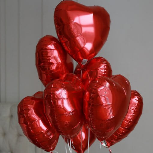 фольгированные-сердце-на-14-февраля никополь