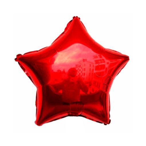 Красная звезда шар