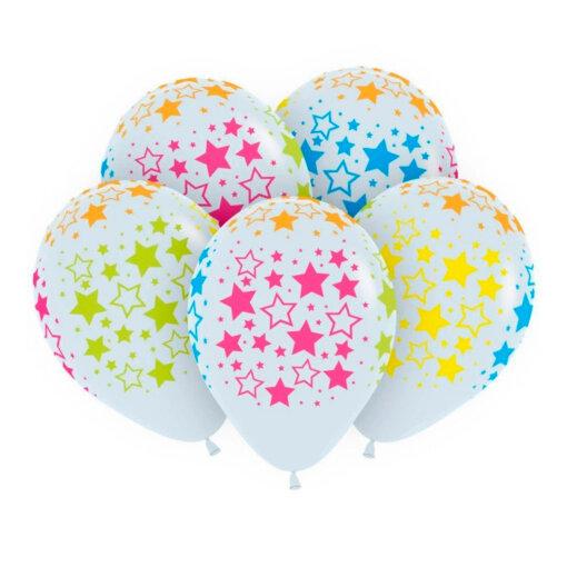 Воздушные шары звёзды в никополе