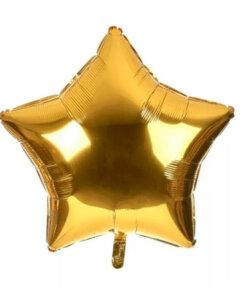 Звезда фольгированная - подарок