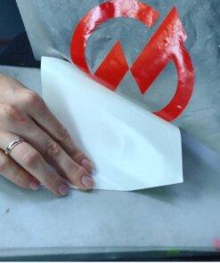 Печать надписи на оракале в Никополе